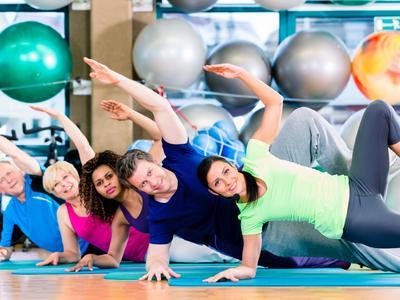 Muskelkräftigung und Straffung